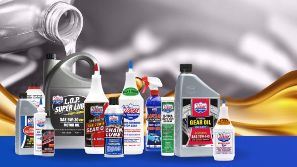 lucas oil produktu sortiments